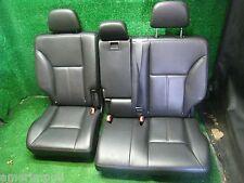 2011 FORD EDGE LIMITED REAR OEM 2ND ROW FOLDING SPLIT BENCH SEATS BLACK