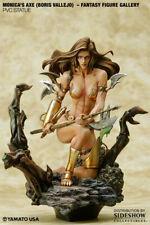 Yamato USA Fantasy Figure Gallery Boris Vallejo Monica's Axe - New