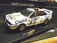 AUDI Quattro Rallye WM GB RAC 1985 Eklund Clarion #8 Sonderpreis Sunstar 1:18