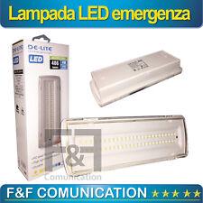 LAMPADA EMERGENZA LED SIMILE BEGHELLI 50 LED 4W INCASSO 3 ORE AUTONOMIA 406 LM