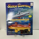 Vintage Super Submarine With Wired Remote Control Dives & Resurfaces New On Card