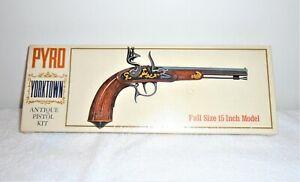 Vintage 1968 Pyro Yorktown Antique Pistol Model Kit # G 203 - 1 to 1 - Sealed -