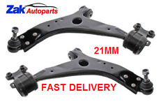 FORD FOCUS MK2 ST 2.5 (05-11) 2 Front Lower Wishbones/Suspension Arms Pair 21MM
