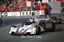 Carlos Reutemann Martini Brabham BT44B Gran Premio de Mónaco 1975 fotografía