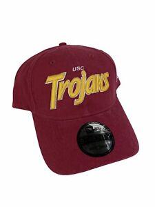 NEW New Era USC Trojans 9Twenty Circle Front Adjustable Snapback Mens Hat Cap
