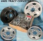 1973-2019 GMC Chevy Truck 8 Bolt Steel Wheels 16