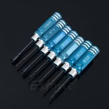 7PCS Blue Hex Screw Driver Tool Kit 1.5MM-5.5MM For RC Helicopter Plane Car Hot