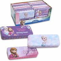 Brand New Kids Disney Frozen Tin Pencil Case Box For Girls