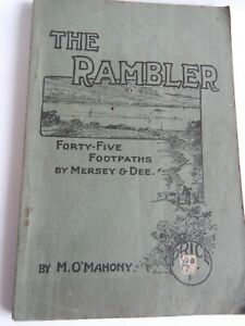 c1920's The Rambler - 45 Footpaths of Merseay and Dee - Liverpool Interest