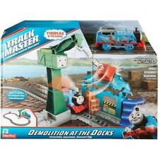 Thomas & Friends Trackmaster Motorised Demolition At The Docks Train Playset NEW