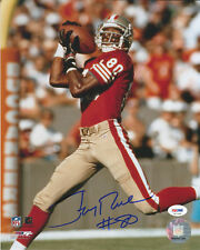 """49ers Jerry Rice """"#80"""" Authentic Signed 8X10 Photo Autographed PSA or BAS"""