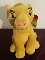 "The Lion King - Simba Plush Coin Bank - 9"" x 7"" - New ! Free Shipping!"