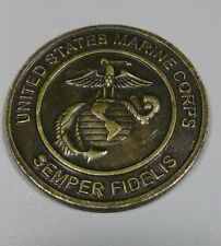 U.S. Marine Corps. Semper Fidelis. Marine Toys for Tots Foundation Coin/Token