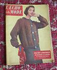 1957 L'écho de la mode N°47 Hebdomadaire féminin vintage couture rétro