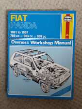 FIAT PANDA HAYNES WORKSHOP MANUAL