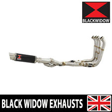 BMW S1000XR 2015-2019 Performance De Cat Exhaust System + Round Silencer BG23R