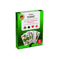 Romme Kartenspiel 2 x 55 Blatt Französisches Bild ASS