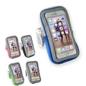 Sport Armband Handy Hülle für LG Fitness Tasche Joggen Schutz Klett Etui Running