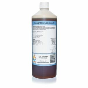 1L Houghton Dromus B (Shell) Water Soluble Cutting Fluid Coolant Makes 20L Suds