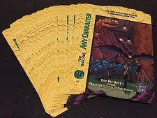 BATMAN The Batcave DC COMICS Overpower LOT of ( 20 ) H PROMO Cards 1996 SHARP