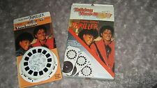 MICHAEL JACKSON OFFICIAL 2 X THRILLER VIEW MASTER 3D MINT NO PROMO OFF THE WALL