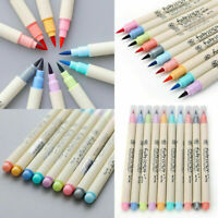 Colorful Calligraphy Drawing Write Marker Brush Pen Set Chinese Drawing Art 1PC