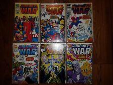 MARVEL COMICS: INFINITY WAR #1-6 (1992)