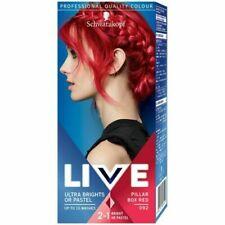 Schwarzkopf LIVE Ultra Brights Pastel Semi Permanent Hair Dyes 92 PILLAR BOX RED