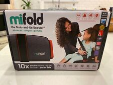 Mifold Grab and Go Car Booster Seat Slate Grey- Open Box