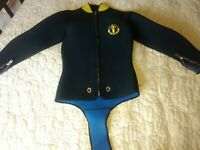 Vintage US divers wetsuit dive suit small medium