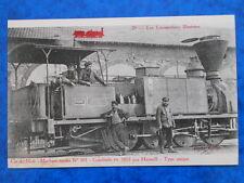 Machine-tender n° 301. Construite en 1855 par Haswell. Type Unique. Cie du Midi.