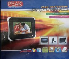 "Peak 7"" Digital Photo Frame 284784FDPK with Remote Control & Slide Show"
