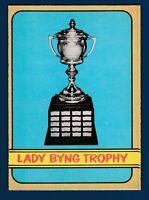 LADY BYING 72-73 O-PEE-CHEE 1972-73 NO 168 NRMINT+2