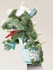 Green Dragon Stage Hand Puppet from Folkmanis Puppets