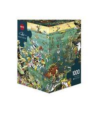 HY29694 - Heye  Triangular Jigsaw 1000 Piece Unter Water, Calligaro Under Water