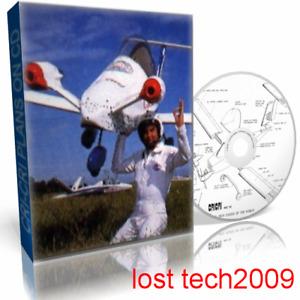CRI-CRI ACROBATIC AIRPLANE ULTRALIGHT AIRCRAFT PLANS ON DVD