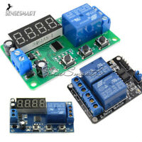 12V/5V 2 Channel LED Automation Delay Timer Switch Relay Module 2CH For Arduino