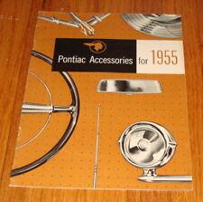 Original 1955 Pontiac Accessories Sales Brochure Chieftain