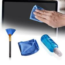 Screen Mobile Phone Computer Kit Laptop Cloth Cleaner Brush Cleaning 3pcs