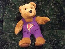 """Hallmark Love and Kiss Kiss boy bear 10"""" new with tag"""