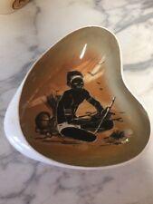 Original Retro Aboriginal themed Dish