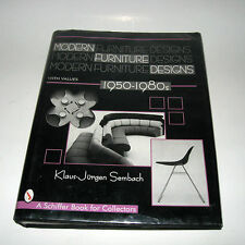Modern Furniture Designs, 1950-1980s Int'l Review Klaus-Jurgen Sembach HB DJ