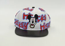 DISNEY MICKEY'S SNAP BACK HAT WITH MICKEY MOUSE EMBROIDERED PICTURE.