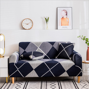 Sofa Covers Slip Cover Furniture Chair Couch Slipcovers 1 2 3 4 Seater Stretch