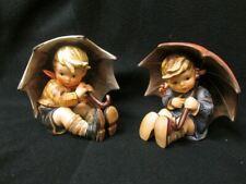 Vintage MI Hummel Set Umbrella Girl and Umbrella Boy Figurine 152/0/B TMK6