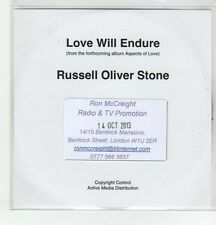 (ER604) Russel Oliver Stone, Love Will Endure - 2013 DJ CD
