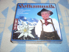 Volksmusik  10 CD SET (Nina & Mike,Klostertaler,Medium Terzett,Alpen-Echo.) NEU