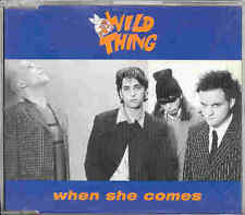 Wild Thing - When She Comes 3-Track CD
