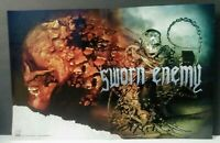 Sworn Enemy 2007 Promo Poster for Maniacal CD 17x11 **Rare**
