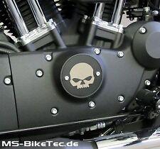 "Point-Cover / Zündungsdeckel für Harley Sportster Modelle, 2-teilig, ""V4"""